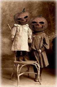 pumpkin children two
