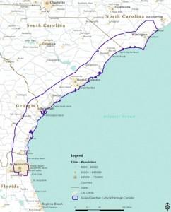 Map of Corridor