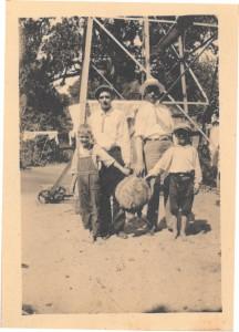c.1924 C.J.Foy_H.S.Foy Jr_Robert Foy_Bud Foy